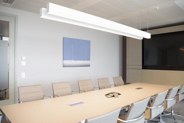 obraz w biurze, wystrój wnętrza, sala konferencyjna