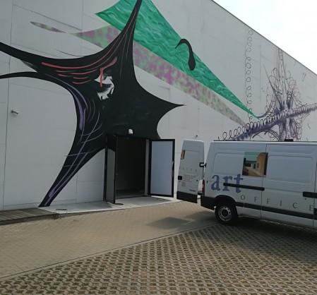 transport, obrazy, dzieła sztuki, art transport