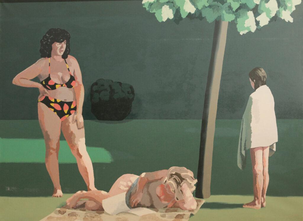 Ludzie na obrazie Roberta Czajki