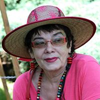 Artystka, Malina Najdek na plenerze malarskim