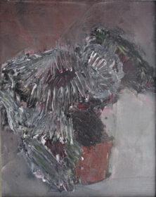 Obraz olejny autorstwa Jacka Siennickiego pt. Kwiat ( Kwiaty ), 1993