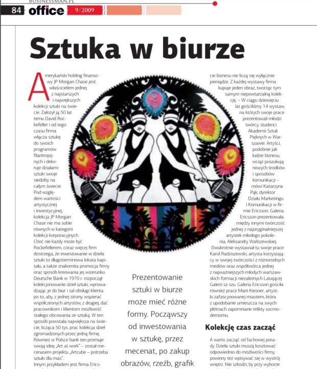 Artykuł o dziełach sztuki w przestrzeniach biur_fragment