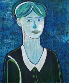 Obraz autorstwa Tadeusza Dębskiego pt. Jej portret.