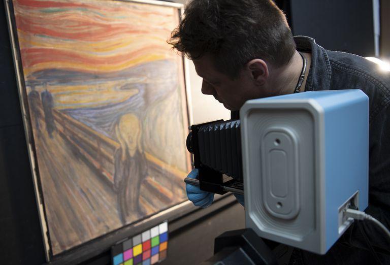 Obraz pt. Krzyk, Edwarda Muncha