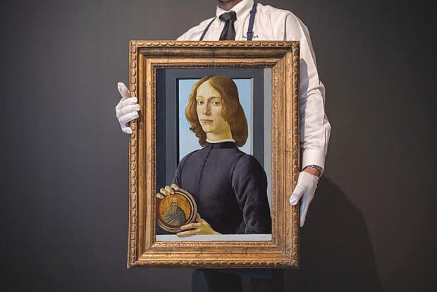 Rekordowa aukcja obrazu Sandro Botticellego