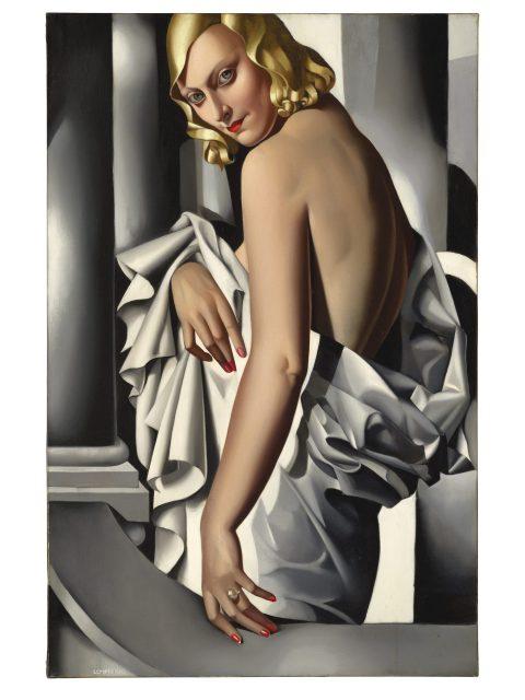 Obraz Tamary Łempickiej sprzedano w zeszłym roku za 16,4 mln funtów.