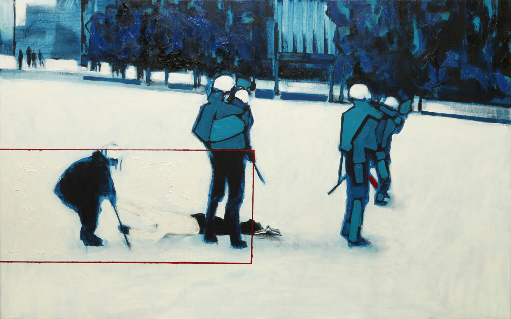 Obraz, Krzysztof Musiał pt. Stop V