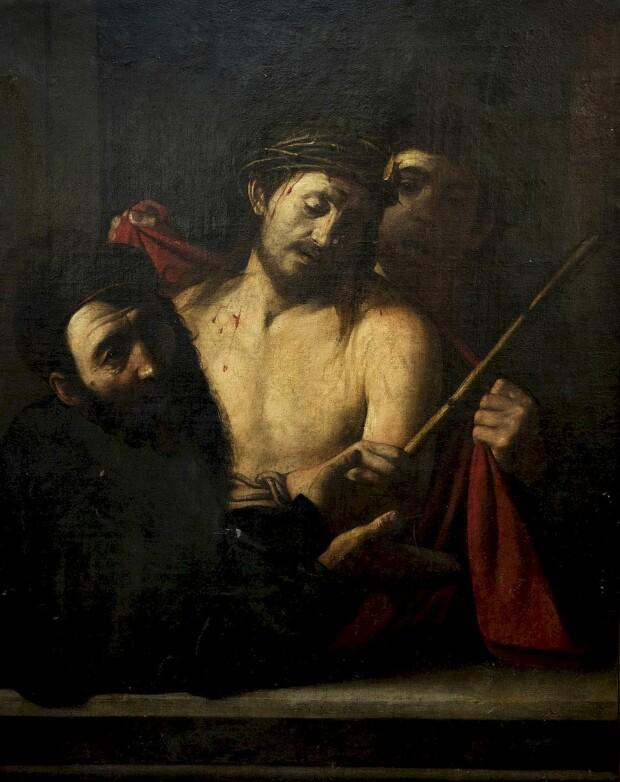 Obraz przypisywany Caravaggio.