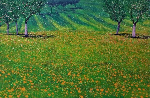 Obraz Jacka Malinowskiego pod tytułem Primavera.