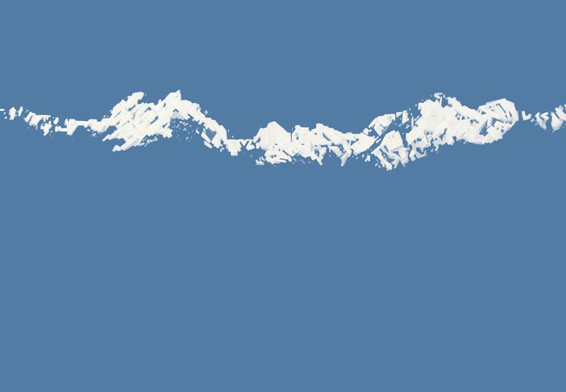 Góry na obrazie Roberta Motelskiego