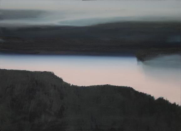 Obraz Rzeka autorstwa Urszuli Kałmykow.