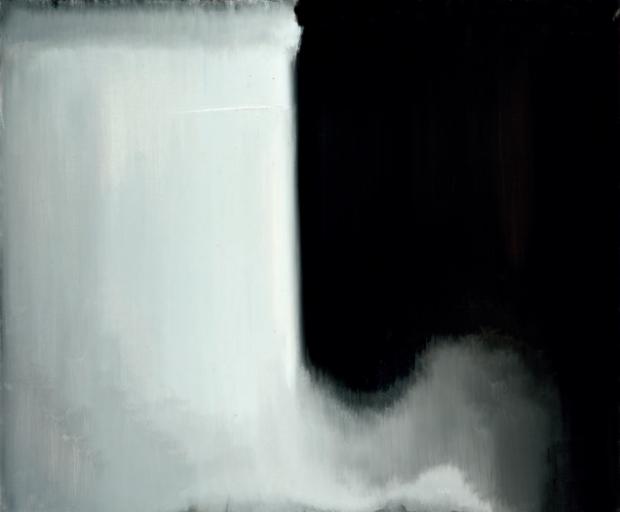 Impresyjny pejzaż autorstwa Stanisława Baja przedstawiający toń Bugu