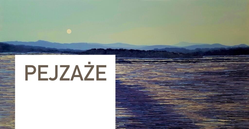 Grafika do wystawy malarstwa Jacka Malinowskiego organizowanej przez Magazyn Sztuk.