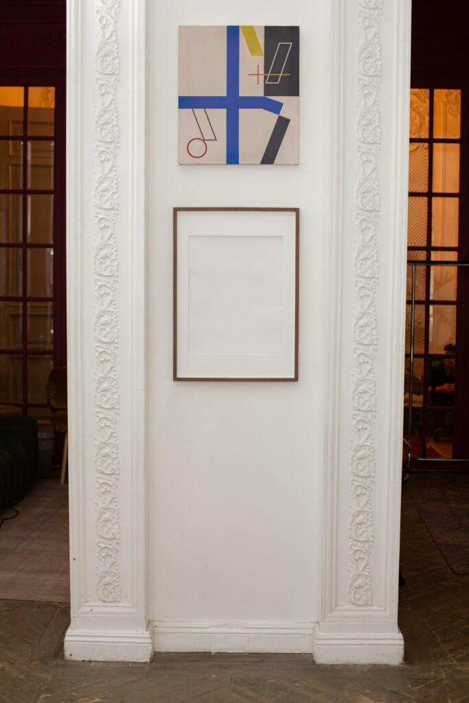 Obrazy w domu kolekcjonera sztuki