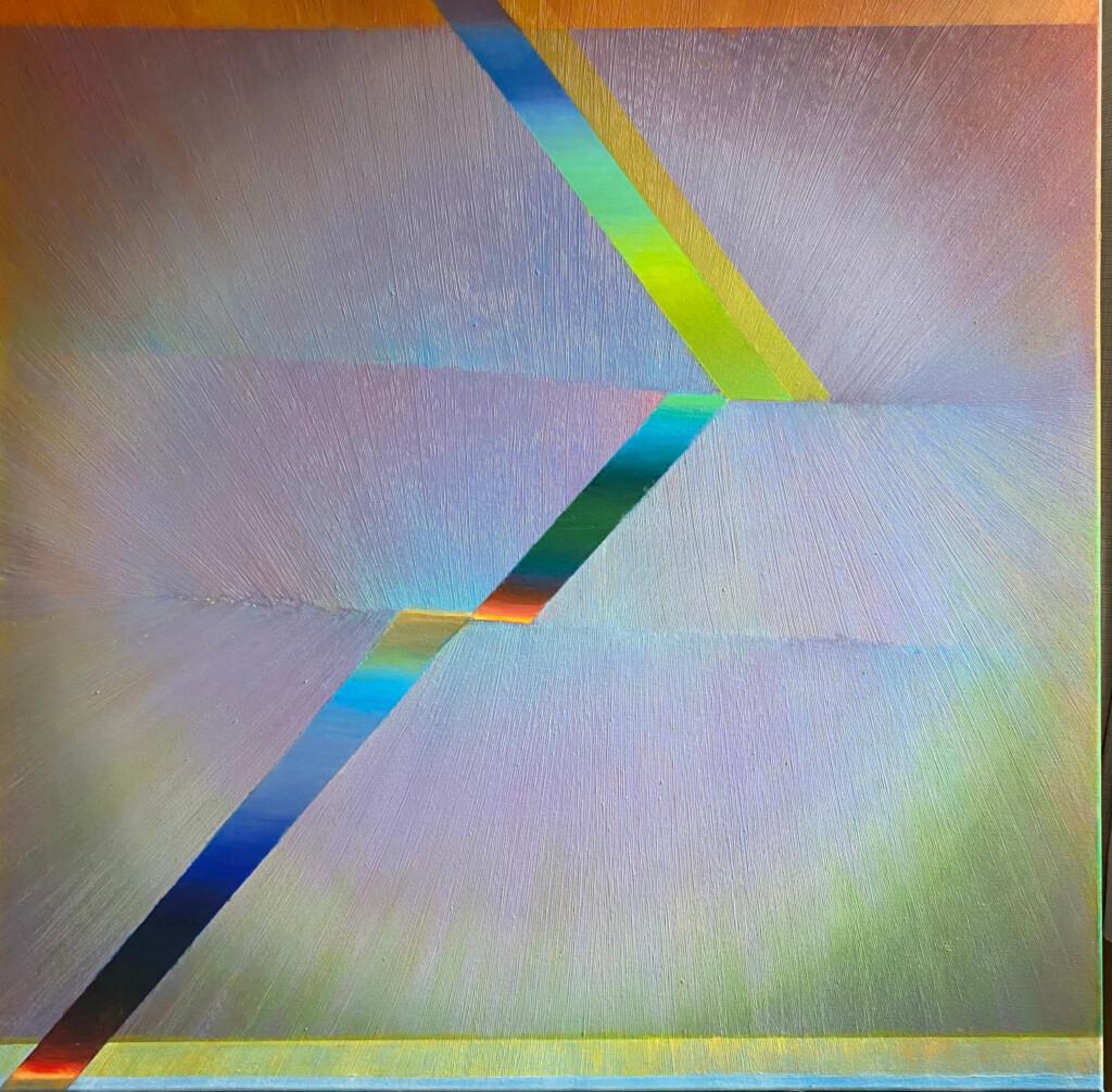 Nowoczesna kolorowa abstrakcja autorstwa Anny Trochim