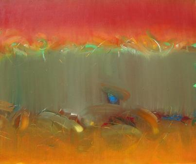 Obraz olejny Anny Alicji Trochim pt. Gorące lato.