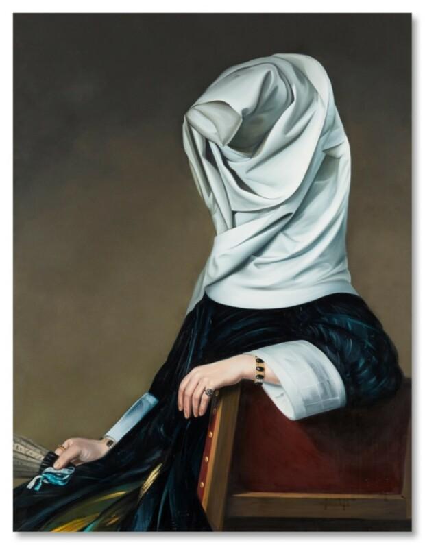 Obraz Ewy Juszkiewicz sprzedany za prawie 2 miliony złotych na aukcji w Londynie