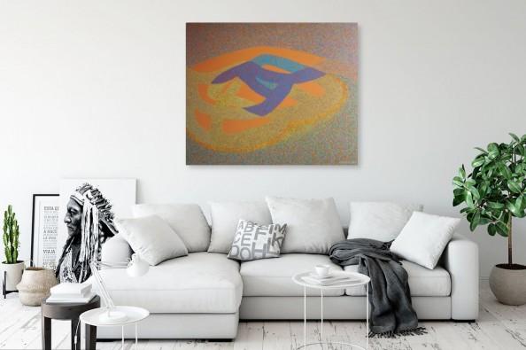Obraz abstrakcyjny autorstwa Jolanty Johnsson