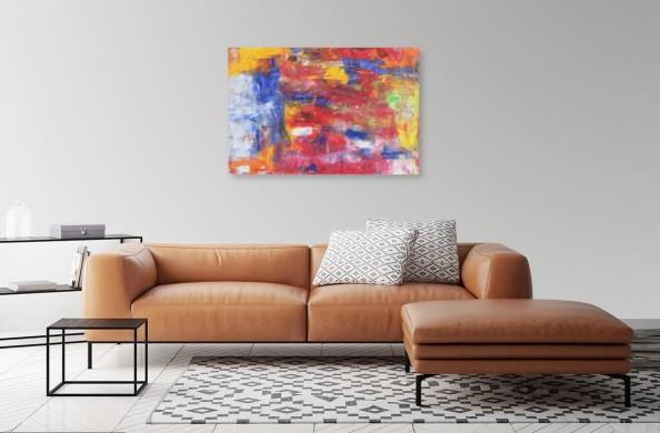 abstrakcja ekspresyjna Lii van Leeuwen