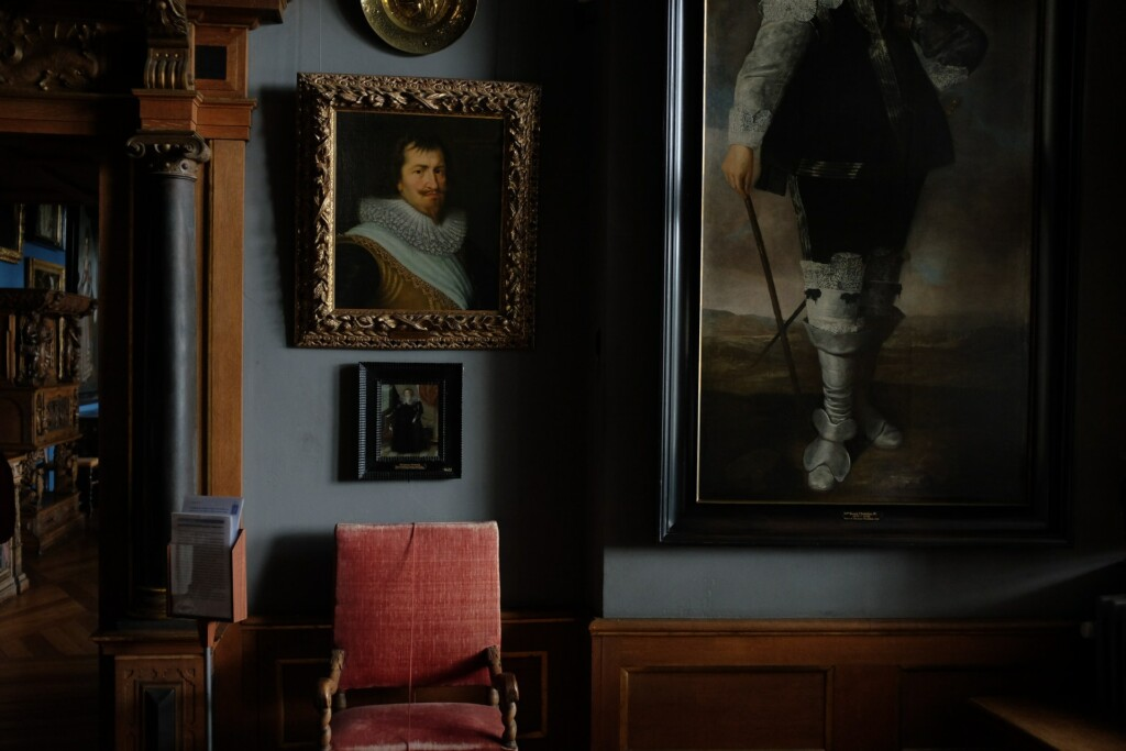 Kolekcja obrazów dawnych mistrzów.