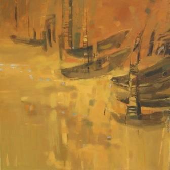 Julia Myga, obraz olejny