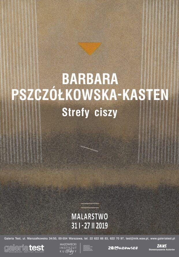 Zaproszenie na wystawę malarstwa Barbary Pszczółkowskiej-Kasten w Galerii Test