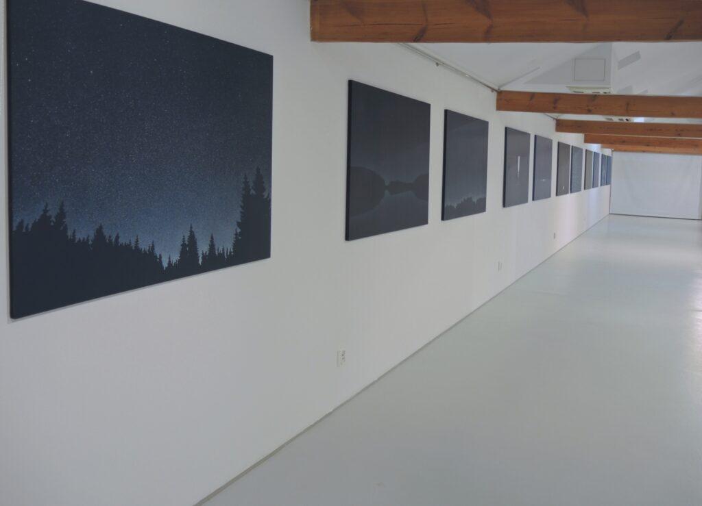 Pejzaże Roberta Motelskiego na wystawie w CAT Ustka