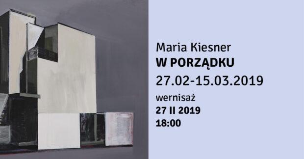 Wystawa Marii Kiesner